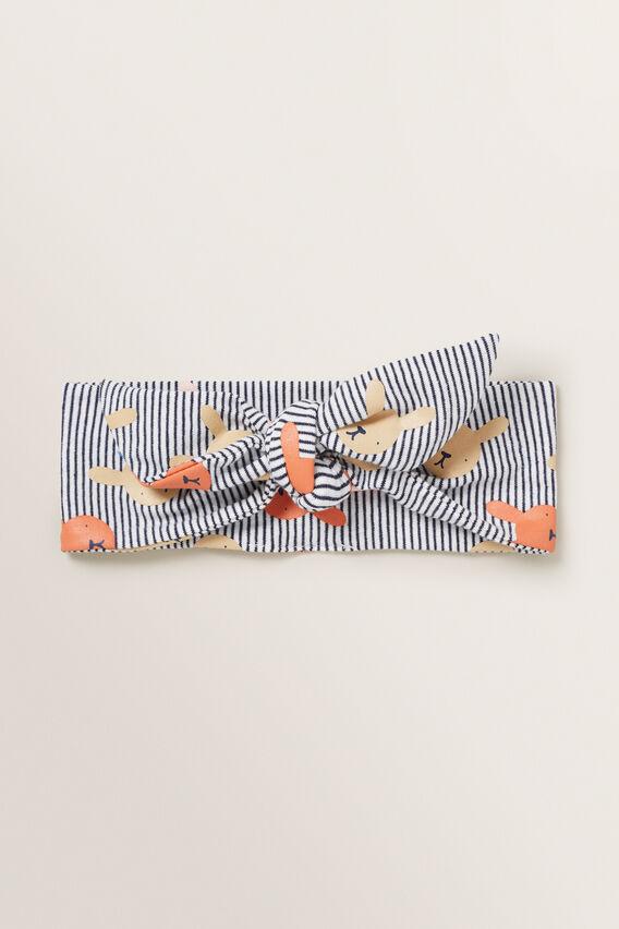 Stripe Bunny Headband  MULTI  hi-res