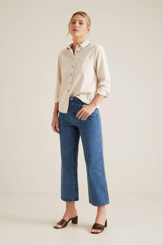Corduroy Shirt  FRENCH CREAM  hi-res