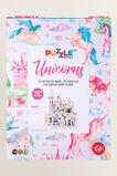 Puzzle Book Unicorn  MULTI  hi-res