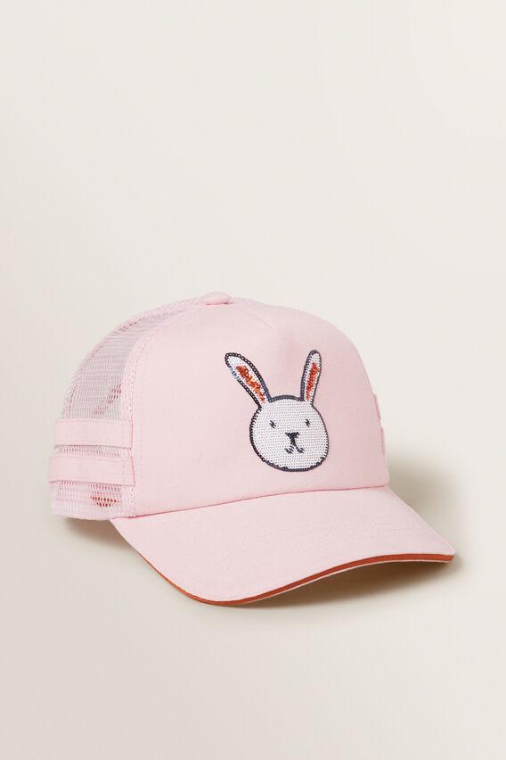 Bunny Cap  DUSTY ROSE  hi-res