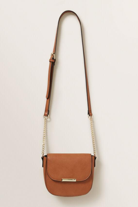 Tan Crossbody Bag  MULTI  hi-res