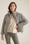 Ocelot Puffer Jacket, OCELOT, hi-res