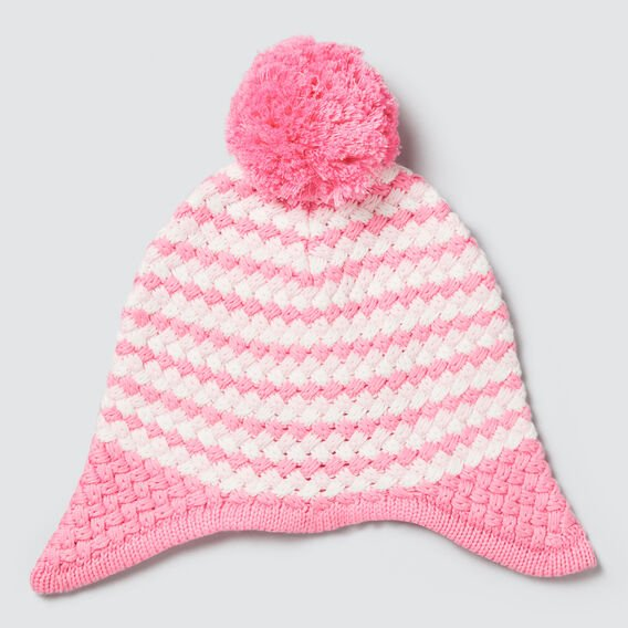 Bubble Knit Beanie  PINK BLUSH  hi-res