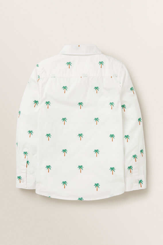 Palm Yardage Shirt  VINTAGE WHITE  hi-res