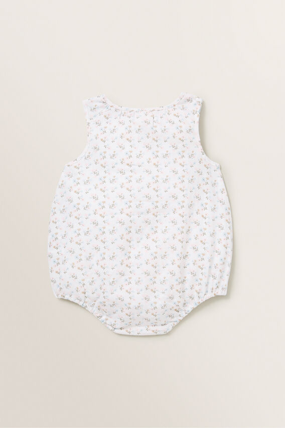 Heart Pocket Romper  MULTI  hi-res