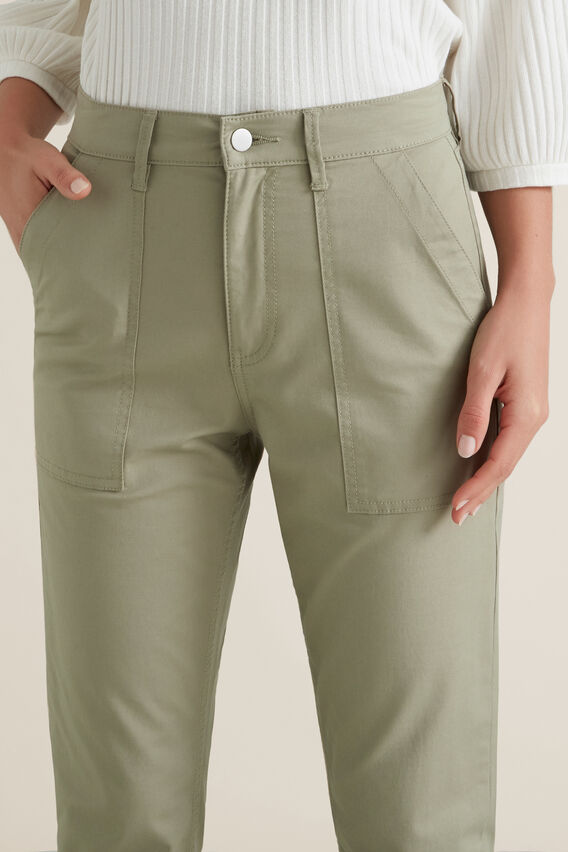 Soft Patch Pocket Pant  WASHED OLIVE  hi-res