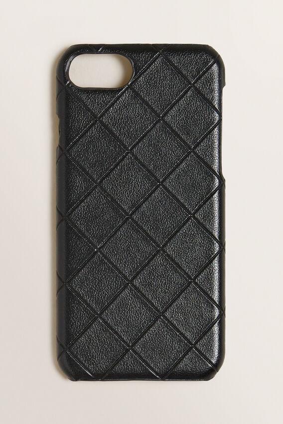 iPhone Case 6/7/8  BLACK TEXTURED  hi-res