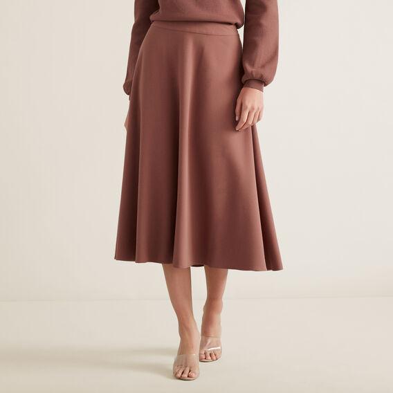 Crepe Woven Skirt  WASHED ROSE  hi-res