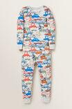Transport Pyjama, CLOUDY MARLE, hi-res