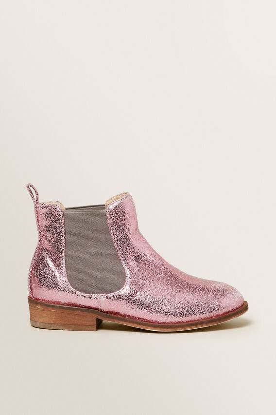 Metallic Pink Boot  PINK  hi-res