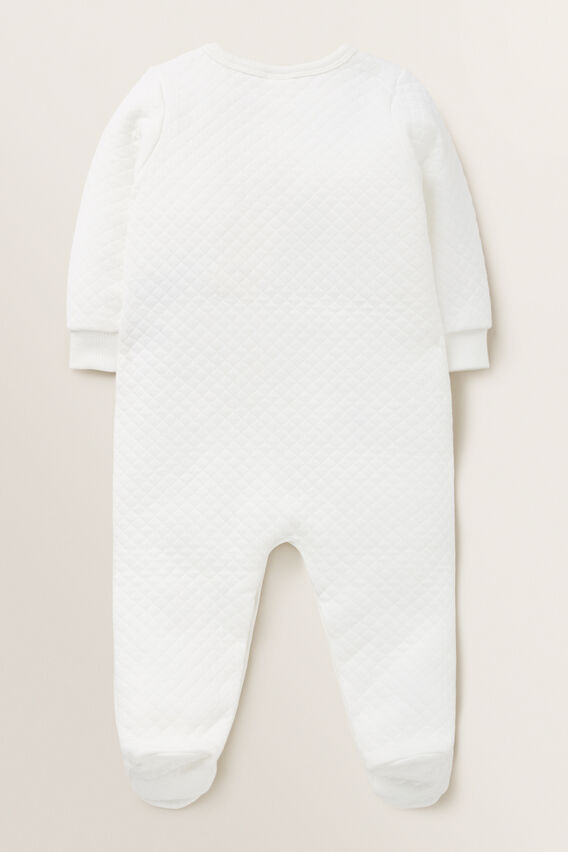 Bunny Quilted Jumpsuit  CANVAS  hi-res