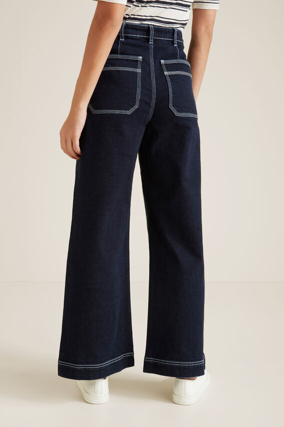 Straight Patch Pocket Jean  BLUE IRIS DENIM  hi-res