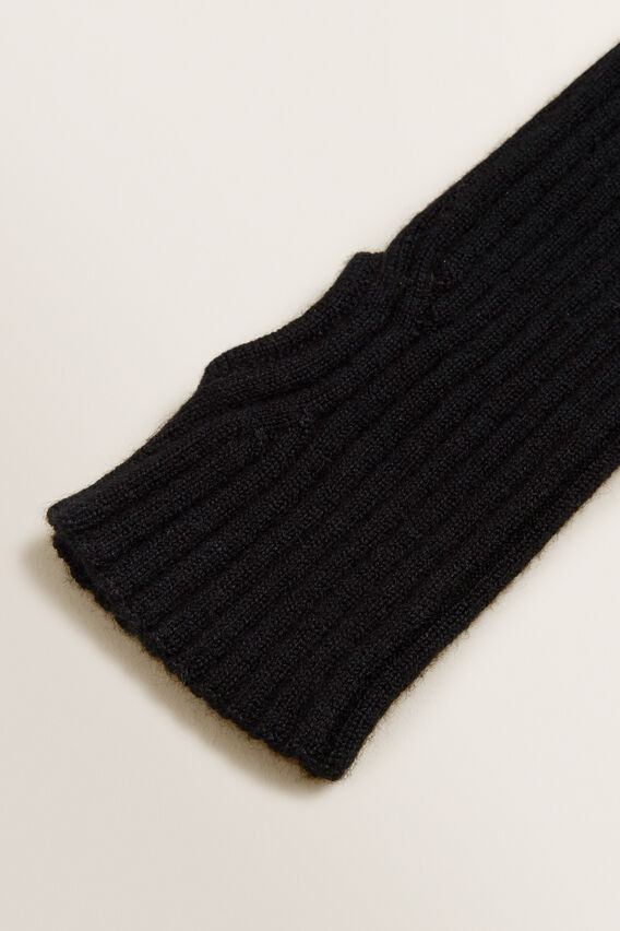 Rib Gloves  BLACK  hi-res