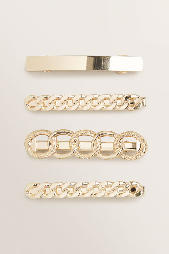 Multi Chain Clip Pack  GOLD  hi-res