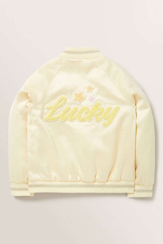 Lucky Bomber Jacket  LEMON  hi-res