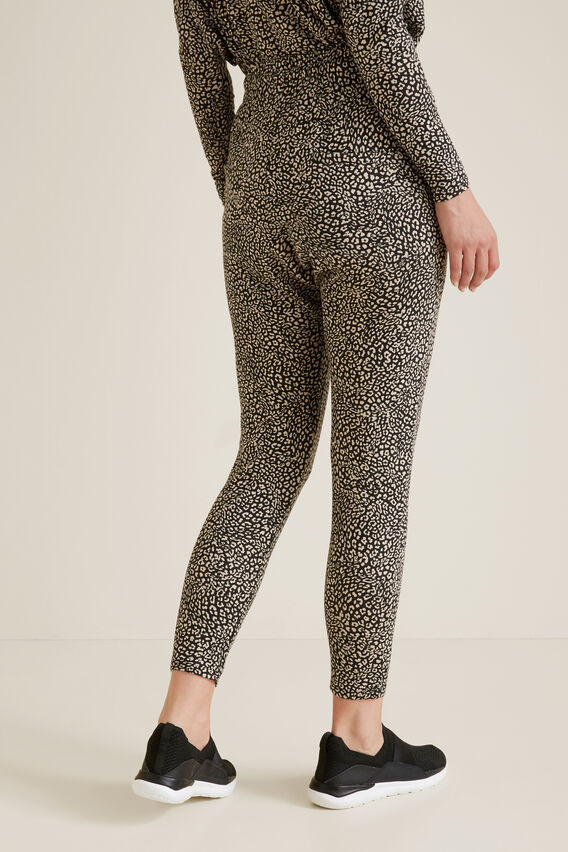 Soft Casual Harem Pants  MINI OCELOT  hi-res