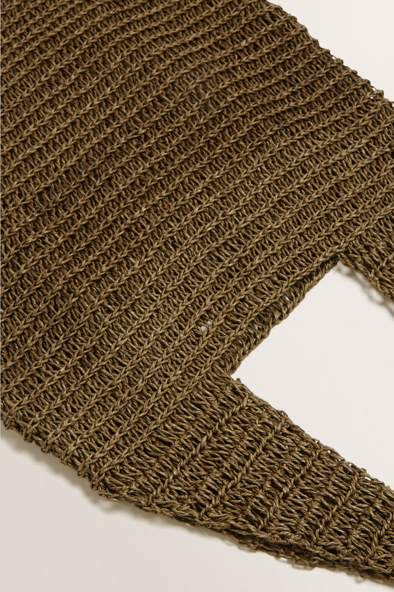 Weave Straw Tote  RICH MOSS  hi-res
