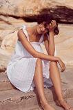 Tie Up Resort Dress  WHISPER WHITE  hi-res