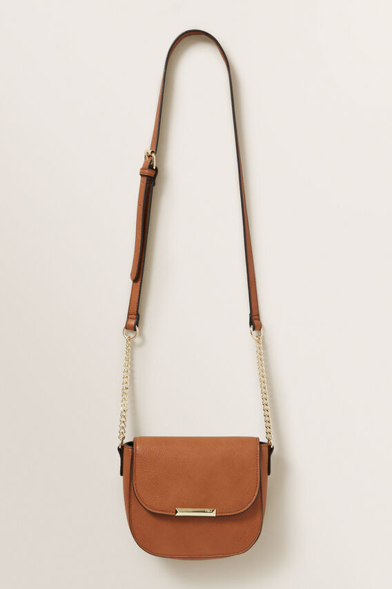 Tan Crossbody Bag  MULTI  hi-res