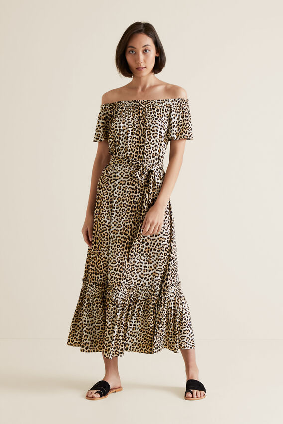 Ocelot Maxi Dress  OCELOT  hi-res