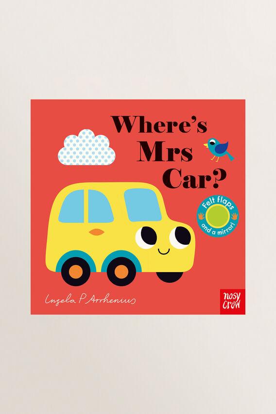 Wheres Mrs Car? Book  MULTI  hi-res