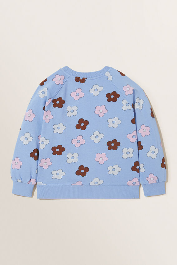 Floral Windcheater  BLUEBELL  hi-res