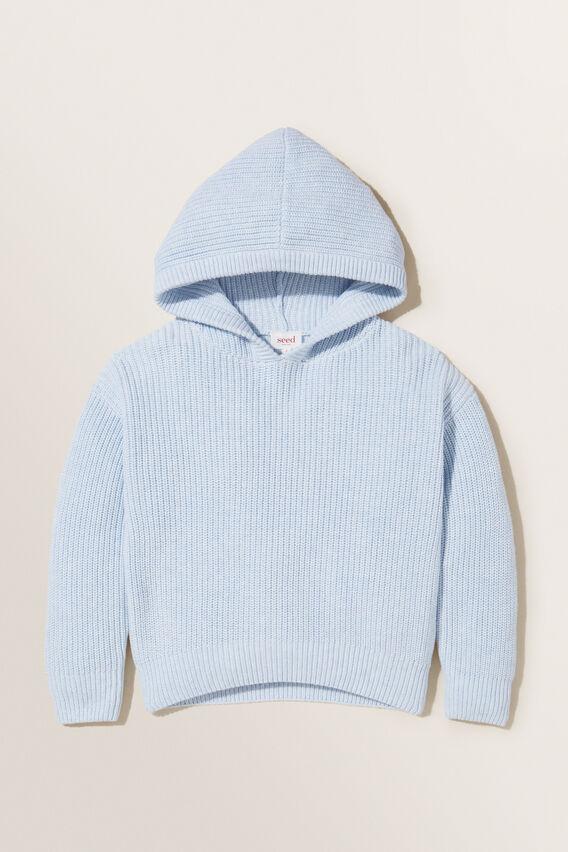 Hooded Sweatshirt  BLUEBELLE MARLE  hi-res