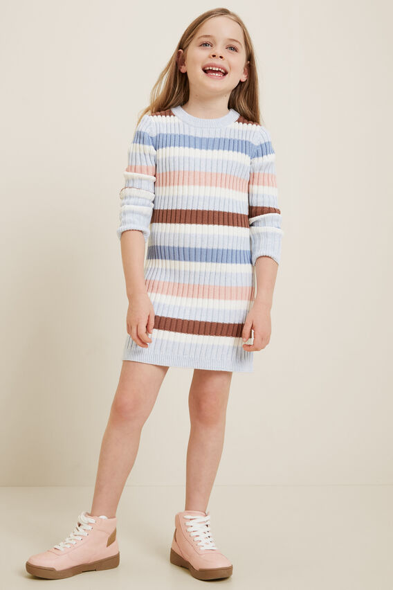 Knitted Dress  BLUEBELLE MARLE  hi-res