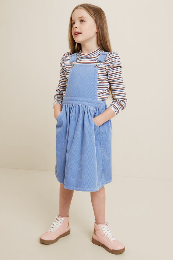 Corduroy Pinafore  BLUEBELL  hi-res