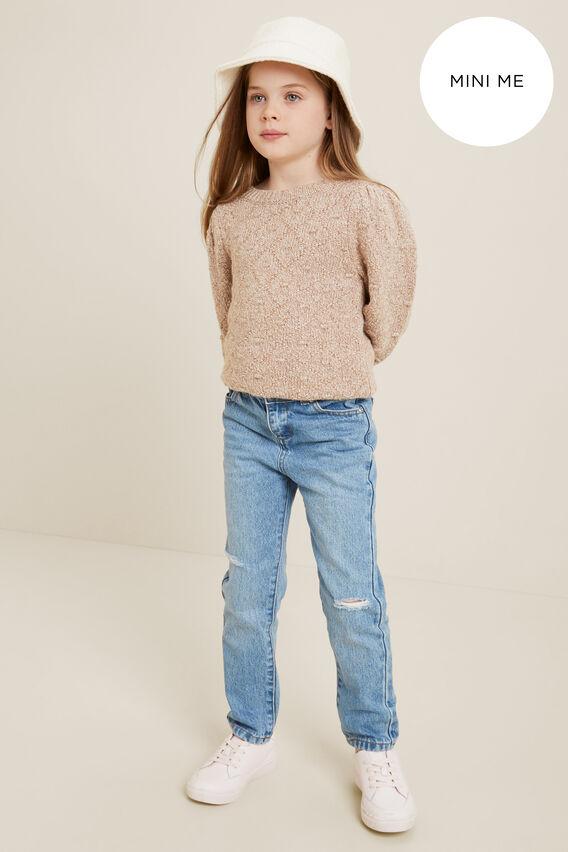 Mini Me Boyfriend Jeans  MID VINTAGE WASH  hi-res