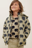 Bear Puffer Jacket  LIGHT OAK  hi-res