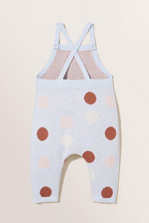 Knitted Overalls  BLUEBELLE MARLE  hi-res