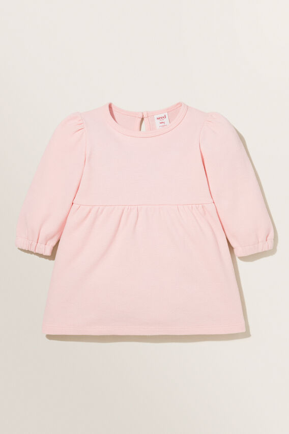 Core Pique Dress  DUSTY ROSE  hi-res