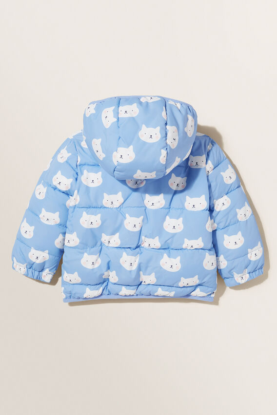 Kitty Puffer Jacket  BLUEBELL  hi-res