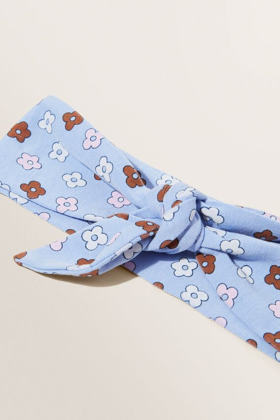 Floral Headband  BLUEBELL  hi-res