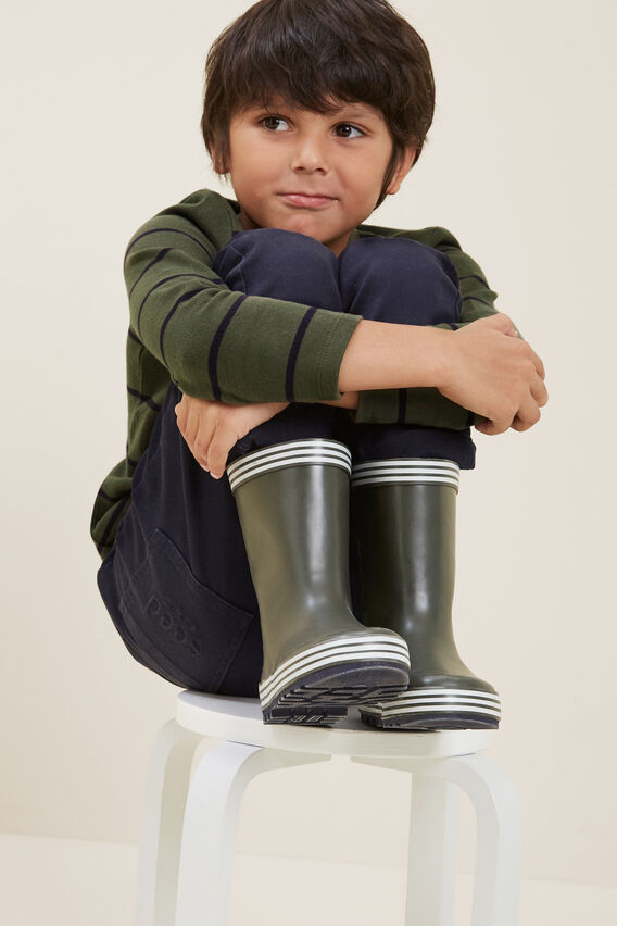 Forest Green Gumboot  FOREST GREEN  hi-res