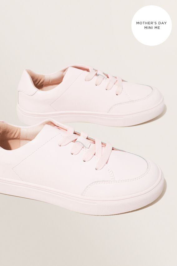 Mini Me Leather Sneaker  ASH PINK  hi-res