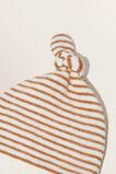 Brushed Stripe Hat  CANVAS  hi-res
