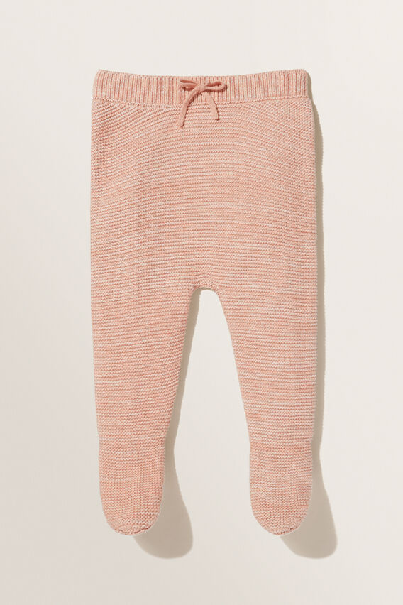 Footed Leggings  PINK CLAY  hi-res