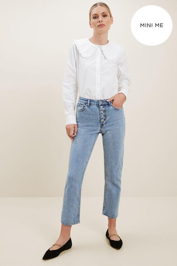 Vintage Collar Shirt  WHISPER WHITE  hi-res