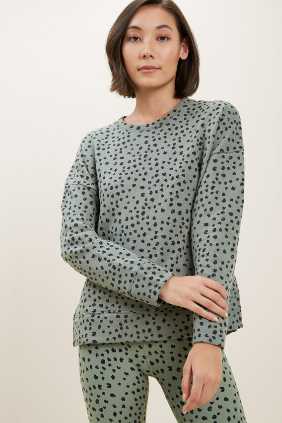 Ocelot Sweater  MULTI SPOT  hi-res