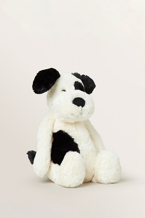 Jellycat Black and White Dog  MULTI  hi-res