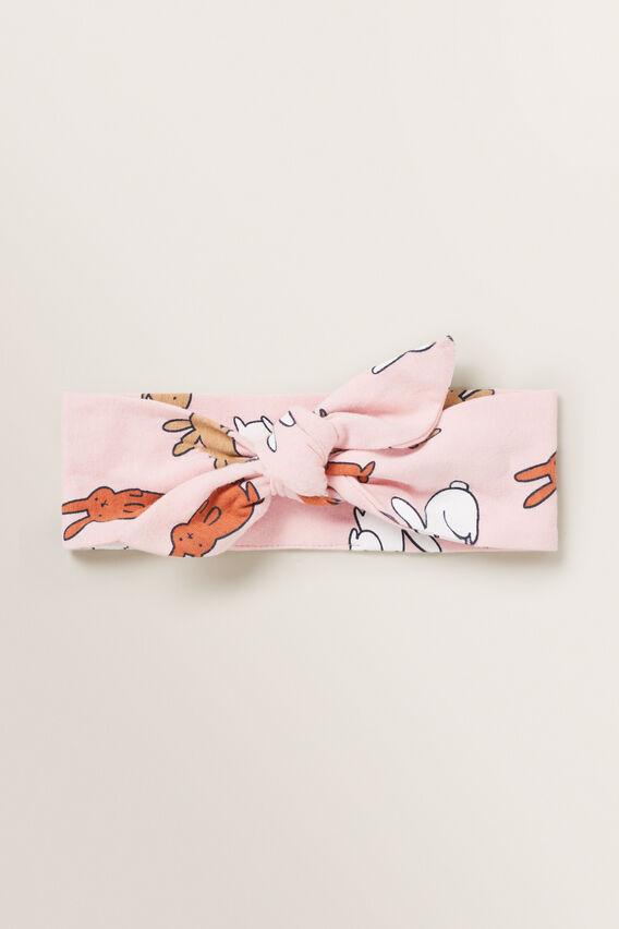 Pink Bunny Headband  MULTI  hi-res