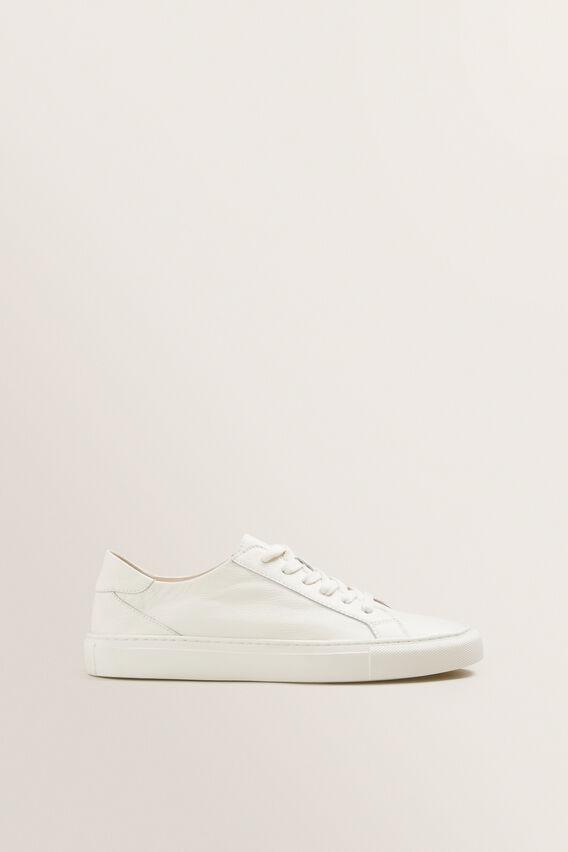 Natalie Sneaker  WHITE  hi-res