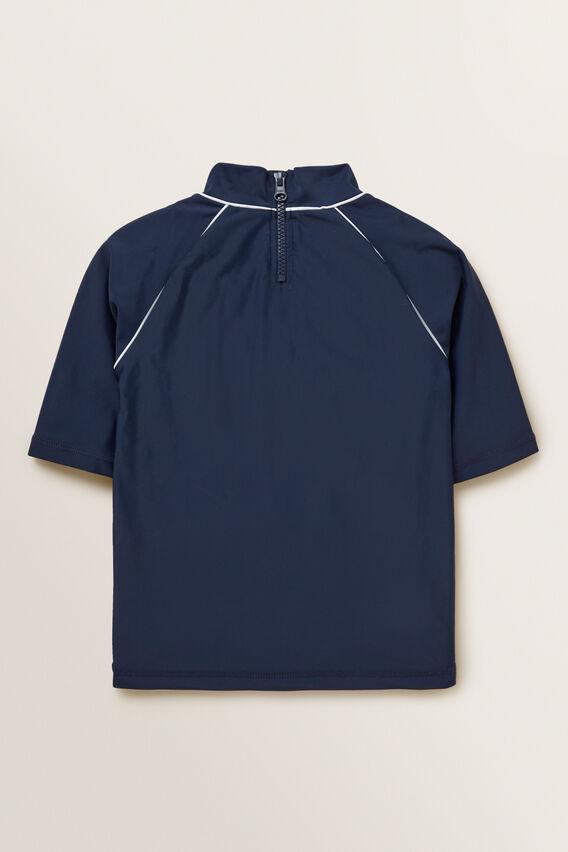Short Sleeve Rashvest  MIDNIGHT BLUE  hi-res