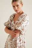 Palm Print Midi Dress  PALM PRINT  hi-res