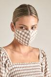 Gingham Tie Face Mask  GINGHAM  hi-res