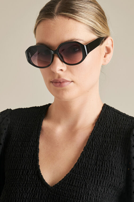 Harriet Sunglasses  BLACK  hi-res