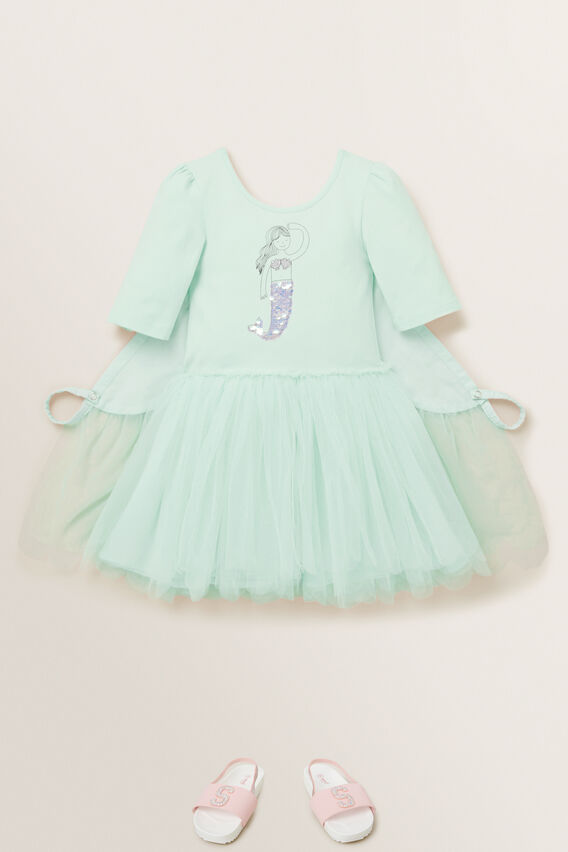 Mermaid Tutu Dress  BABY MINT  hi-res