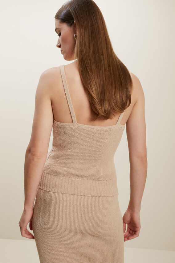 Boucle Knit Top   BISCOTTI  hi-res
